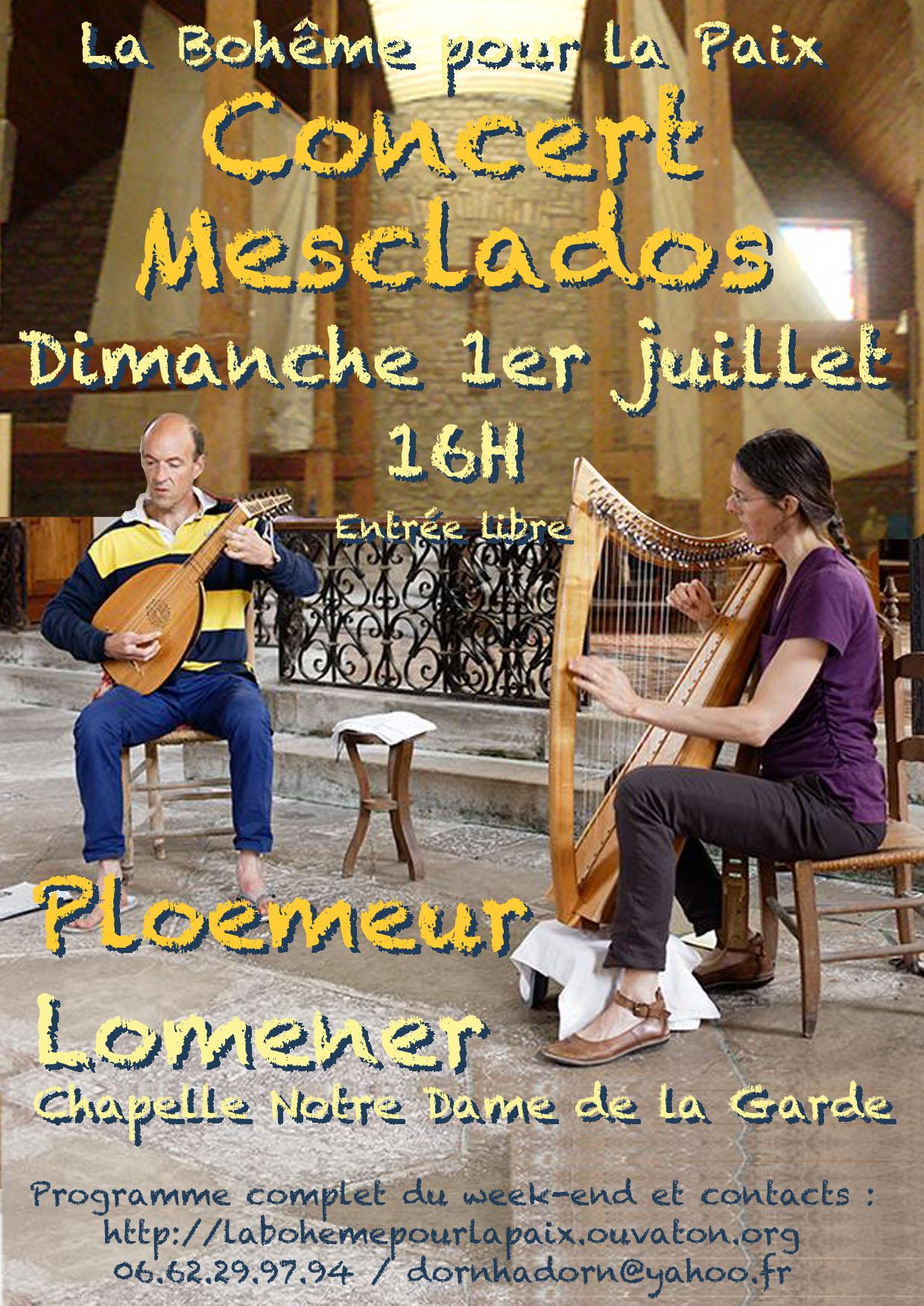 Affiche du Concert Mesclados