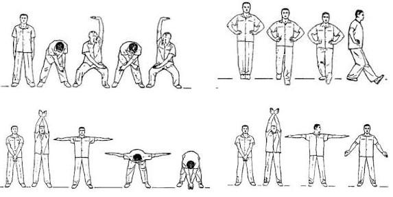 18 exercices de santé