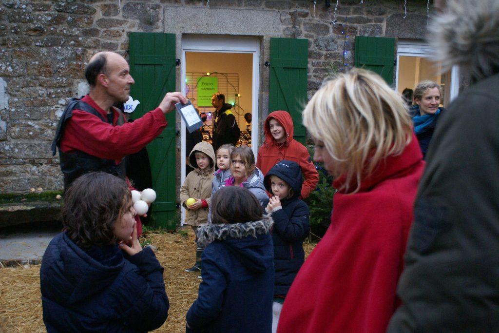 Lianito, messager de Paix au Noël des communs d'abords