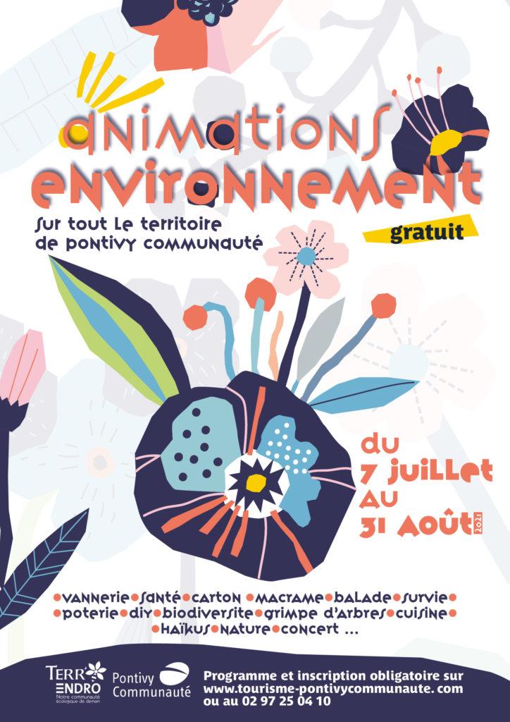 Affiche du programme environnement de Pontivy Communauté